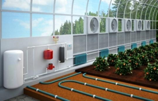 Отопление зимних теплиц. который дает возможность максимально быстро реагировать на изменения условий эксплуатации...