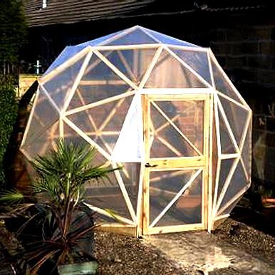 Теплица геодезический купол: легкость, прочность, стиль и много чего другого