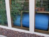 Использование пластиковых емкостей с водой для обогрева теплиц