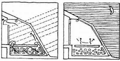 Каменный теплоаккумулятор под полом