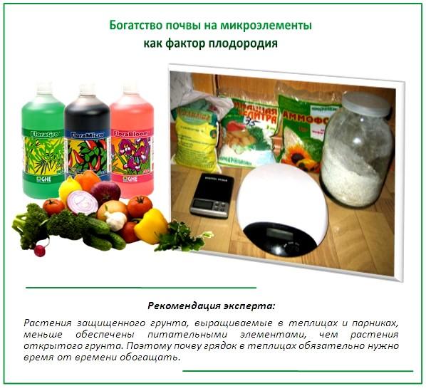 Удобрения для плодородия почвы