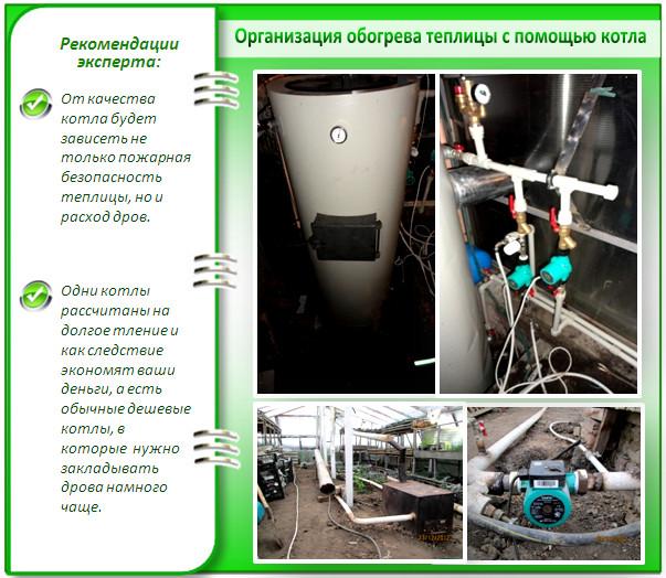 Отопление от газового котла