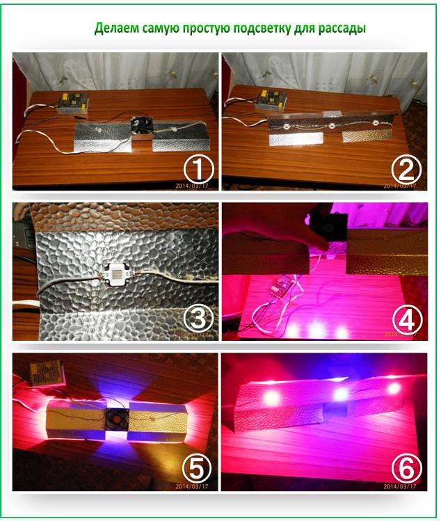 Как самим сделать светодиодную подсветку 59