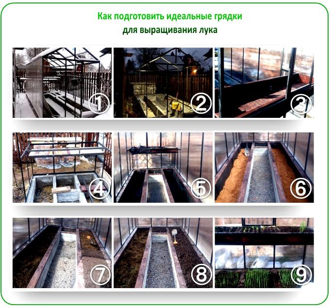 Как построить теплицу для зелени