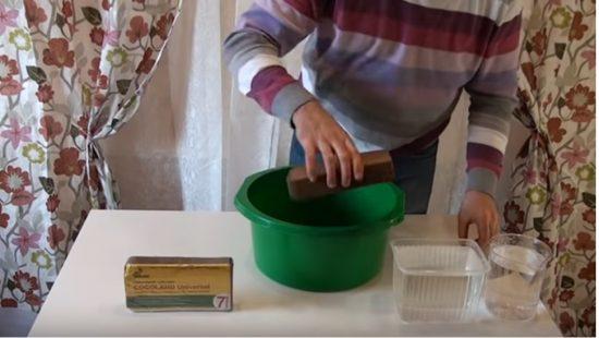 Подготовка кокосового брикета к использованию
