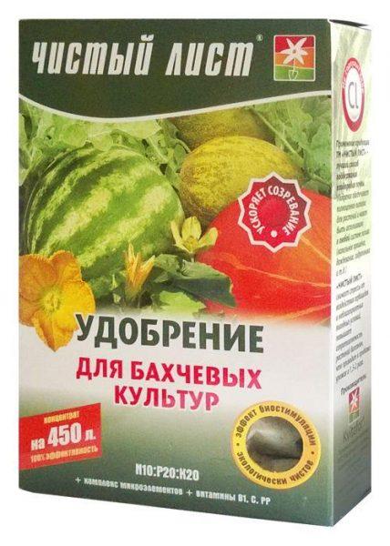 Удобрения для арбузов