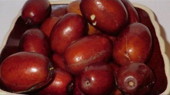 Свежие плоды унаби