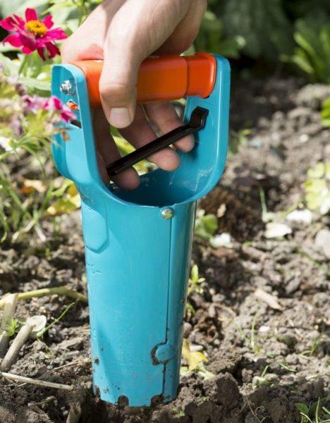 Инструмент для высоких ямок под арбузы