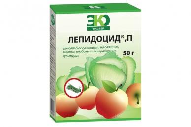 Препарат Лепидоцид для яблонь