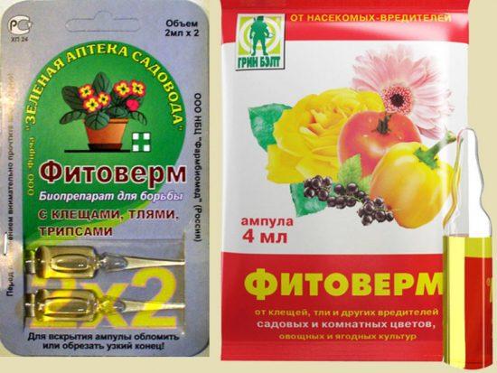 Биопрепараты от вредителей для смородины