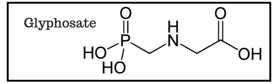 Формула глифосата