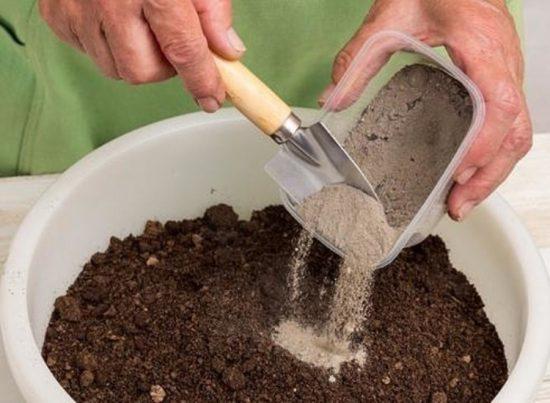 Зола и компост