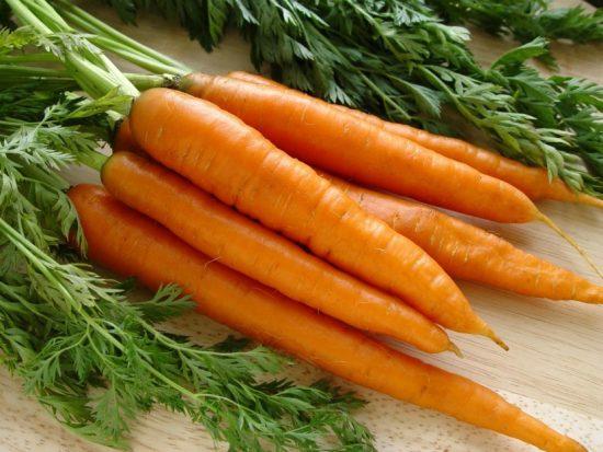 пучок моркови